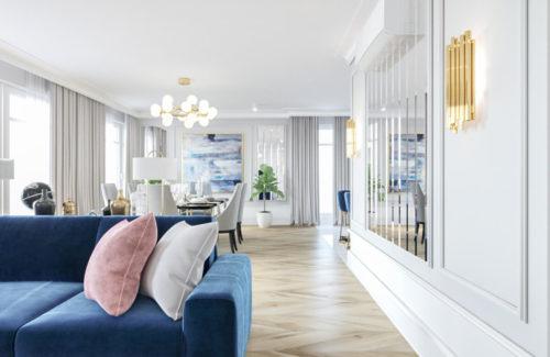 Apartament, Saska Kępa