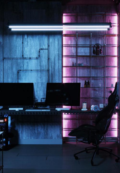 Pokój gamingowy